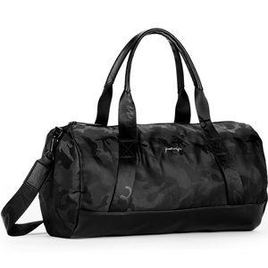 ea188fa36f3 Kendall   Kylie Bags   Kendall Kylie Black Camo Duffle Sport Gym Bag ...